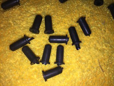 FRONT HOOD EMBLEM PLUG CLIPS QTY 10 VOLKSWAGEN BUG SUPER BEETLE T-3 113853615