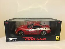 Hotwheels Elite Ferrari 599 GTB RED Panamerican 1/18 Mattel Fresh Case 458 430