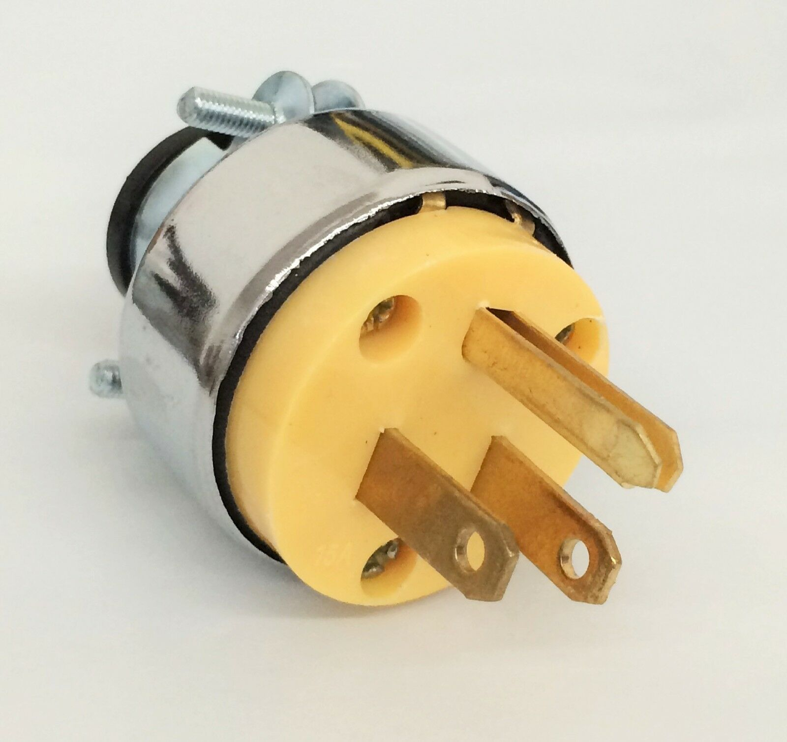 Wennow Male Extension Cord Replacement Electrical Plugs 15amp 125v 3 Prong Ebay Norton Secured Powered By Verisign