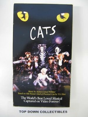 CATS Elaine Paige, Sir John MIlls, Musical VHS Movie Like New