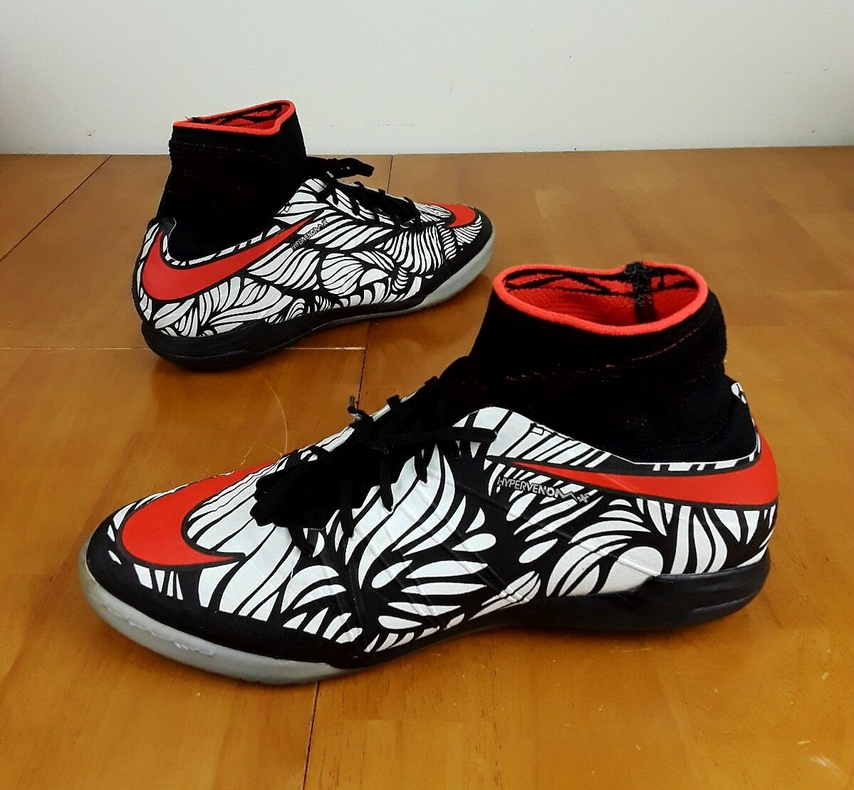 best authentic 18465 0d867 New Nike Nike Nike Men s Hypervenomx Proximo TF Athletic Shoes Black White  Red 820118