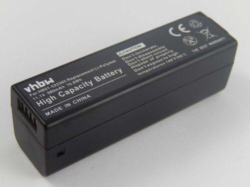 hb01 Osmo hand held 4k camera hb01-522365 Batería 980mah para DJI Osmo