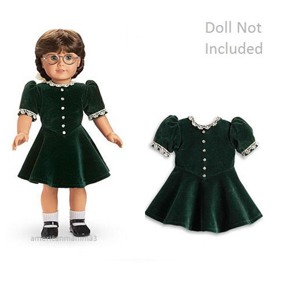 American Girl Molly Natale Abito per 45.7cm Bambole Vacanza Molly Ritirato Nuovo
