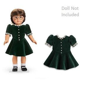 American Girl Molly Costume Noël Pour 45.7cm Poupées Vacances À La Retraite Neuf