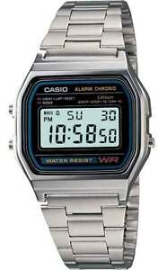 CASIO-WATCH-VINTAGE-RETRO-80-039-s-A158WA-1-A158-A158WA-WARANTY-GENUINE