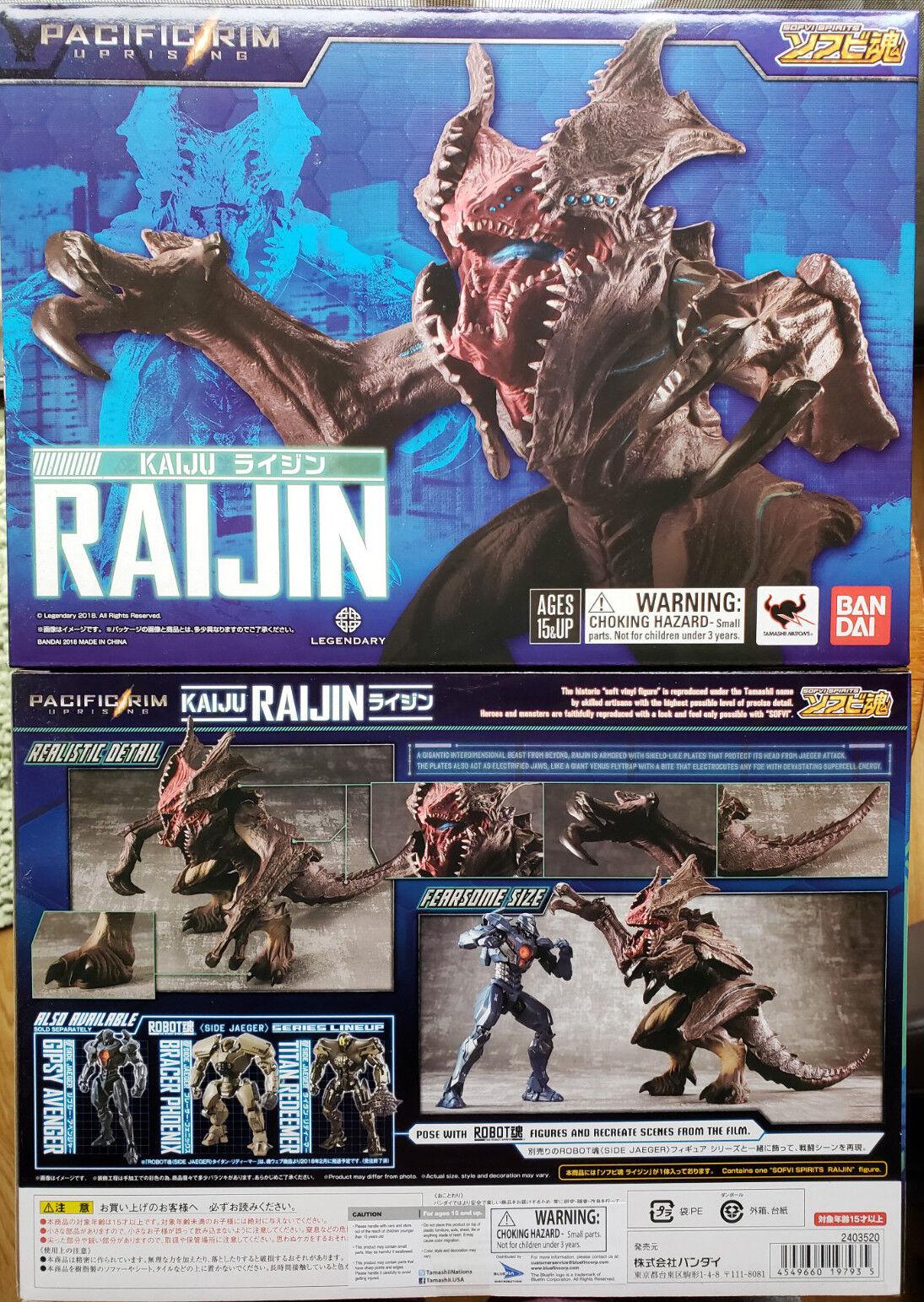 US US US Ship Pacific Rim 2 Uprising Sofvi Spirits Raijin 8  Action Figure Collectible 044c14