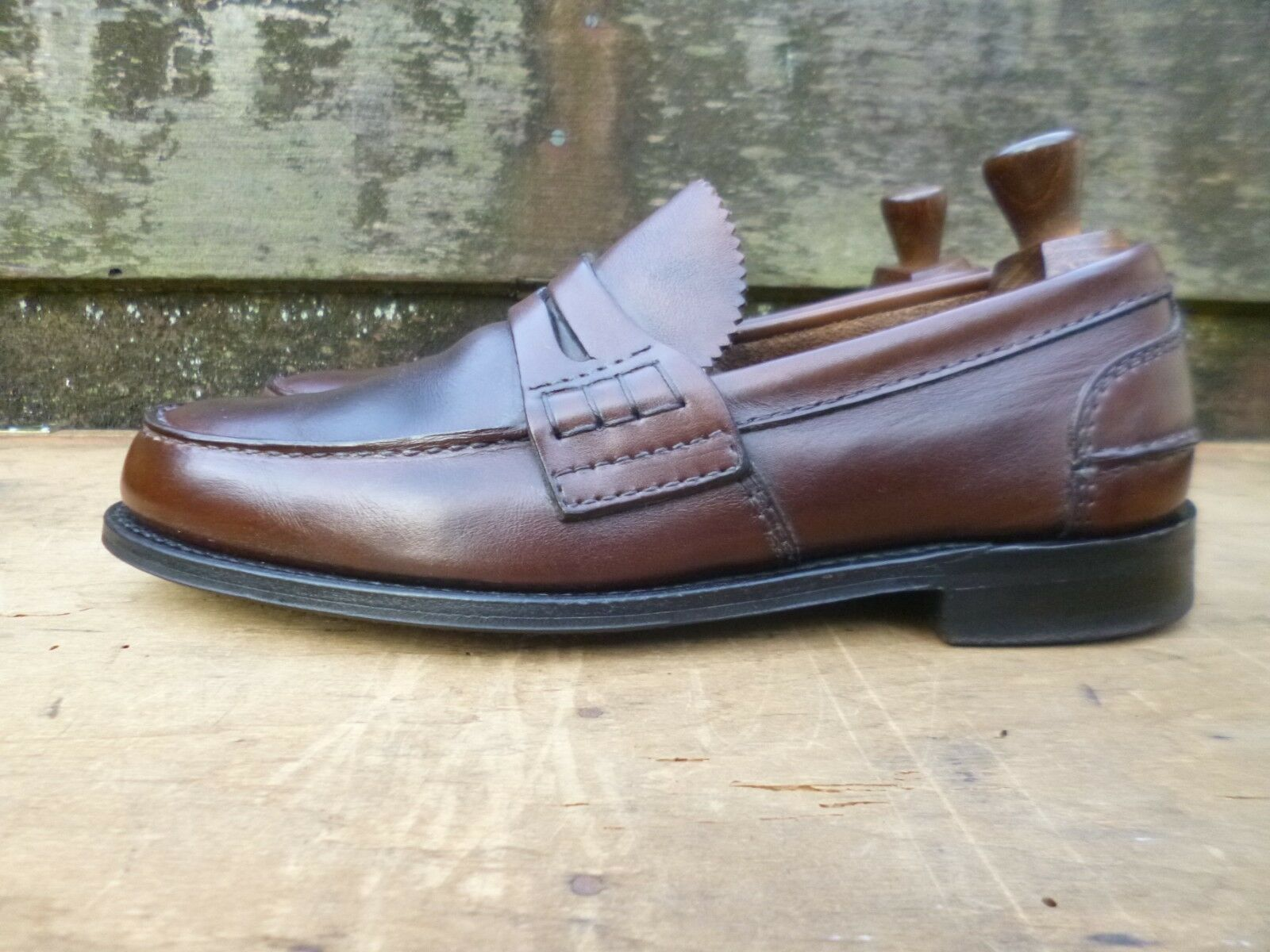 CHURCH LOAFERS 7 – BROWN NEVADA CALF - UK 7 LOAFERS – EXCELLENT CONDITION 343ad4