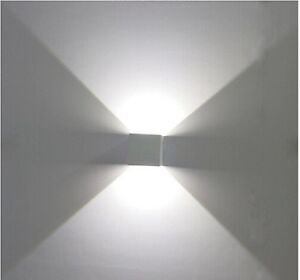 Lampada led da parete IP65 doppia luce fredda illuminazione per ...