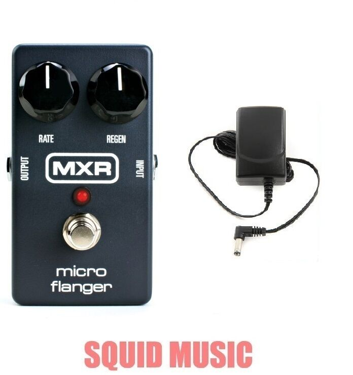 MXR Dunlop M-152 Micro Flanger Guitar Effects Pedal M152 ( FREE POWER SUPPLY )