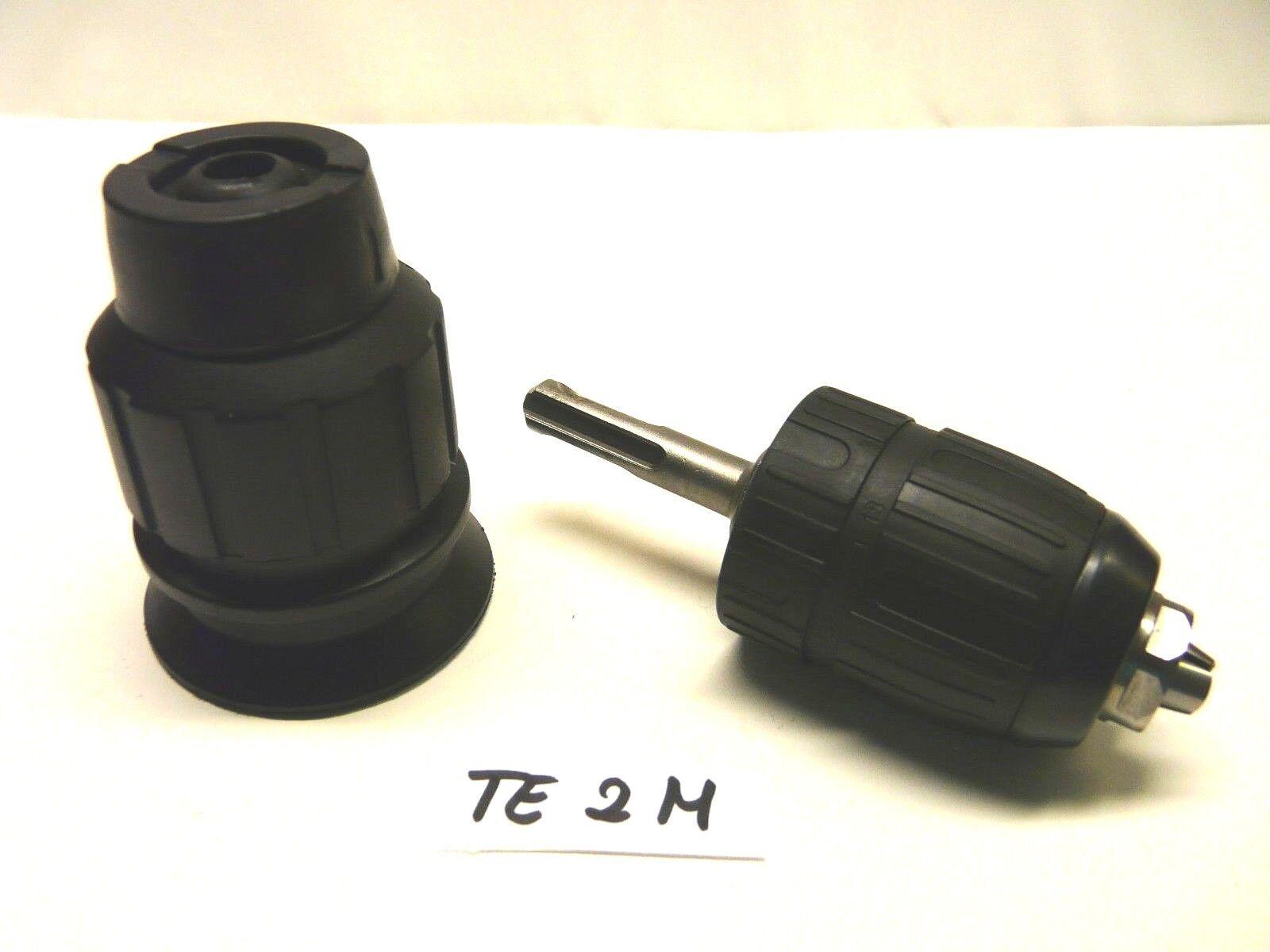 Bohrfutter für Hilti TE 2 M  + Schnellspannfutter mit SDS Plus Adapter