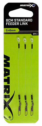 Matrix Standard /& X-Strong Feeder links 4,6 and 8 cm feeder fishing all sizes