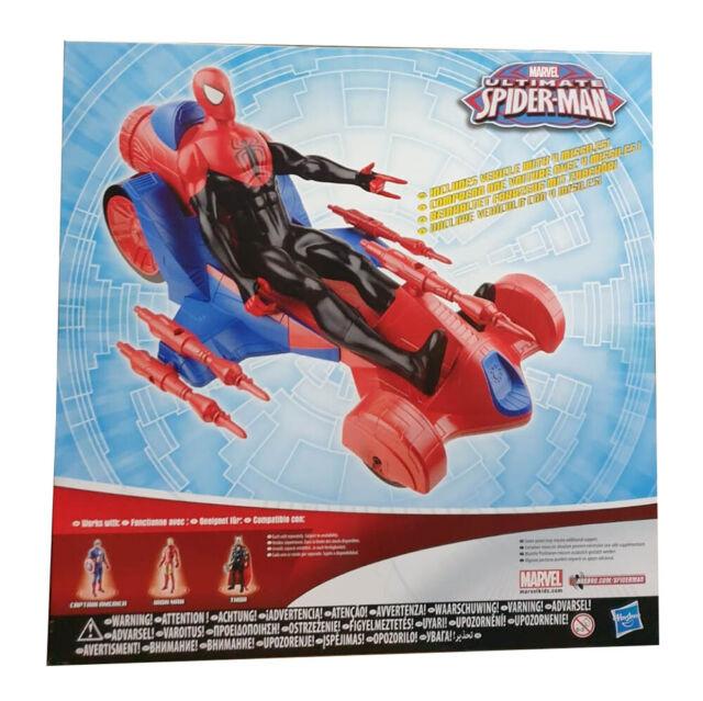 Hasbro Marvel Spider-Man Giant Actionfigur mit Turbo Racer, 30 cm Spielfigur NEU