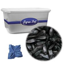 5 kg Sonnenblumenkerne schwarz Lyra Pet Wildvogelfutter + 17 L Wanne klar + Tuch
