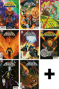 COSMIC-GHOST-RIDER-1-2-3-4-5-6-COMIC-BOOKS-Variant-Incentive-Marvel-Comics