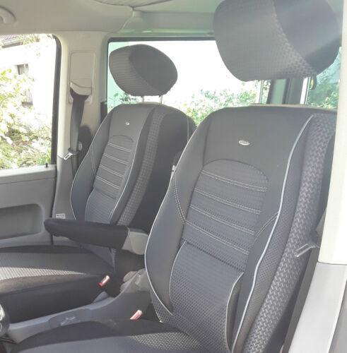 Sitzbezüge Schonbezüge Mercedes-Benz Viano W639 für zwei Einzelsitze