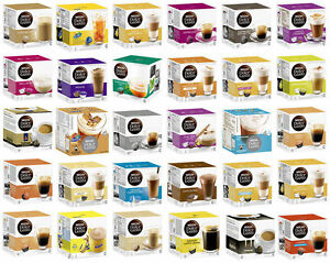 nescafe dolce gusto coffee capsules pods full range over. Black Bedroom Furniture Sets. Home Design Ideas