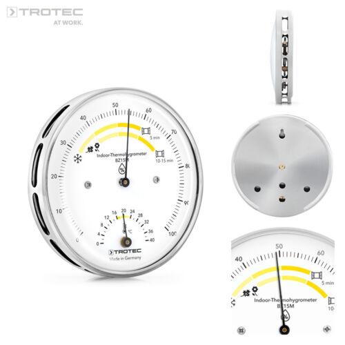 TROTEC Thermohygrometer BZ15M Hygrometer Thermometer Raumklima Luftfeuchtigkeit
