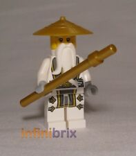 Lego Master Wu from set 70734, 70738 + 71234 Ninjago Minifigure BRAND NEW njo142