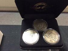 Ken Griffey Jr. Sammy Sosa Mark McGeire Highland Mint 3 coin set Home Run Heroes