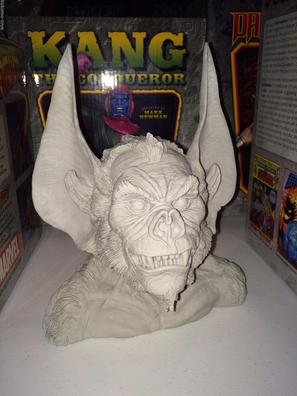 Unproduced Predotype Randy Bowen Statue Bust by Arthur Adams DC Man-Bat