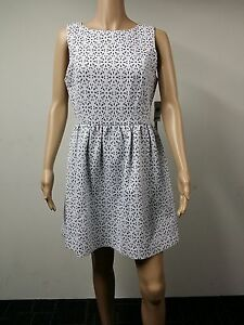 NEW-FAST-to-AUS-Kensie-Dresses-Size-10-Sleeveless-Floral-Dress-White-99