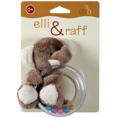Baby Elli /& Raff Buggy//Pram Cot Blanket,Comforter,Soft Toy Teether Ring Rattle