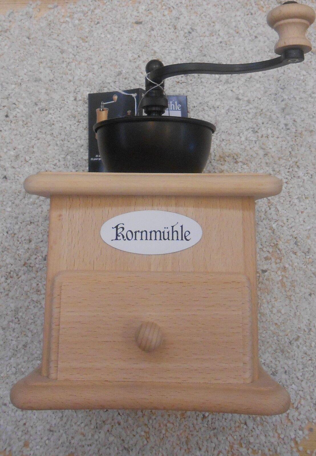 Zassenhaus Kurbelmühle Kornmühle Mühle Buche natur neu | | | Günstigen Preis  d0cdad