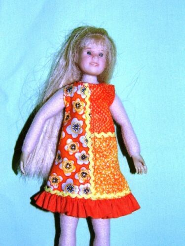 """NG Creations Sewing Pattern Homespun Fashions fits 9/"""" Only Hearts Club Dolls"""