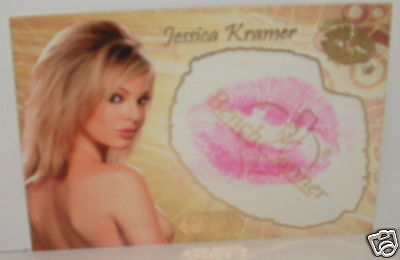 BENCHWARMER GOLD JESSICA KRAMER KISS CARD