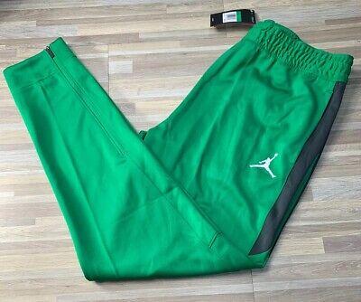 $70 Nike Jordan Flight Team Basketball Training Pants Men's Sz LARGE Blue 924709