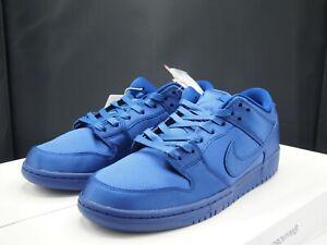 lowest price 78230 c23e9 Details about Nike SB Dunk Low TRD x NBA Royal Blue AR1577-446 Men's size 9  US