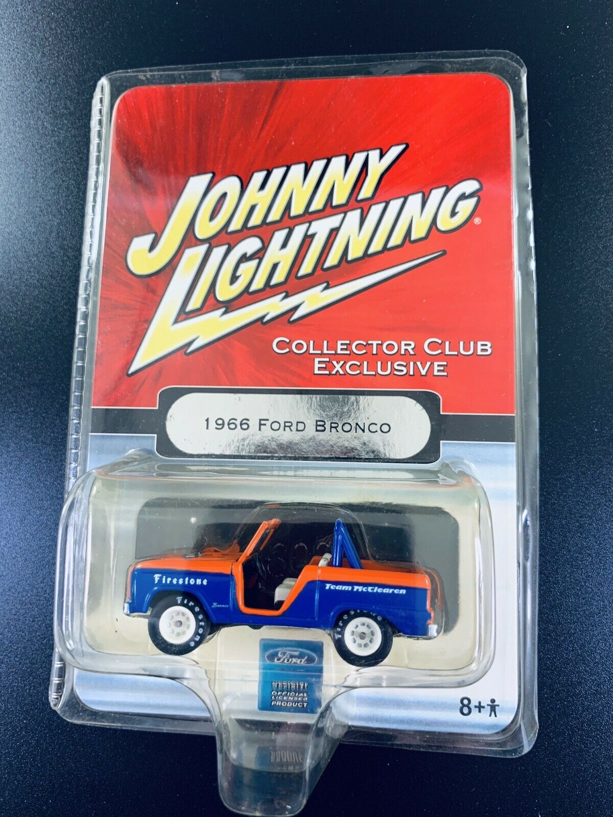 2006 Johnny LIghtning COLLECTOR CLUB EXCLUSIVE 1966 Ford Bronco METAL real rider