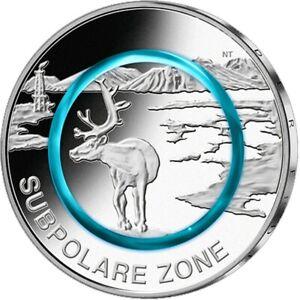 5-Euro-Subpolare-Zone-Deutschland-2020-Stempelglanz