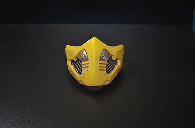 MKX Toasty mask ( clean) costume cosplay Scorpion Mortal kombat MKX