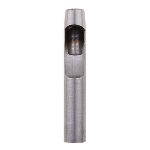 Poinçon Creux Perforateur en Acier D/'outils Cuir Perforant Joint Coupeur