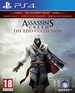 PS4-Game-Assassin-039-s-Creed-Ezio-Collection-AC-2-Brotherhood-Revelations-New