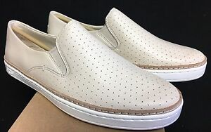 6f73b1681f1b9 Details about Ugg Australia Keile Perf 1015446 Freshwater Pearl Cream Beige  Tan Slip On Shoes
