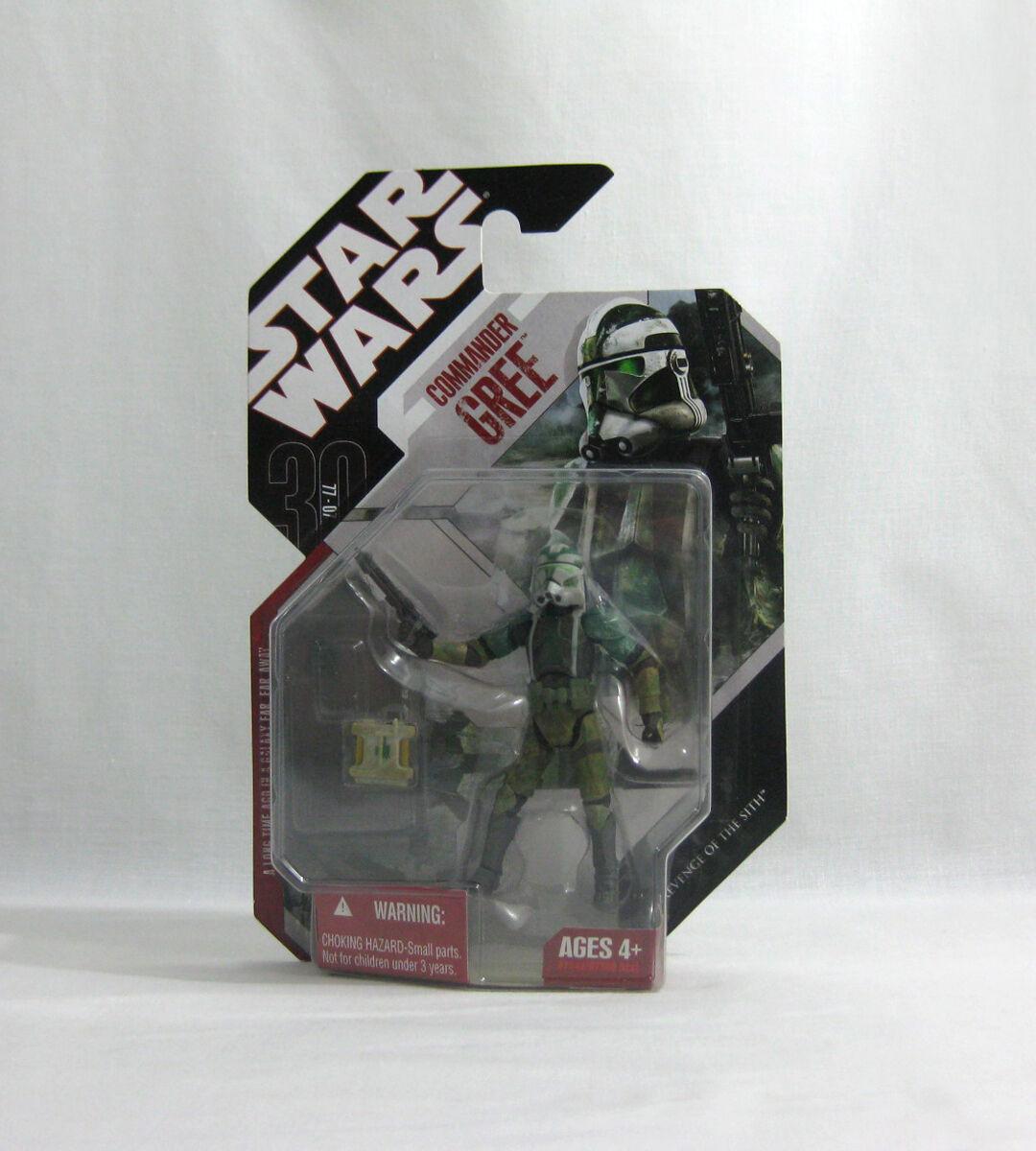 NEW 2007 Star Wars ✧ Commander Gree ✧ 30th Anniversary  03 MOC