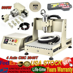 4-Axis-CNC3040-Router-Engraver-USB-800W-VFD-Engraving-Milling-Machine-Controller