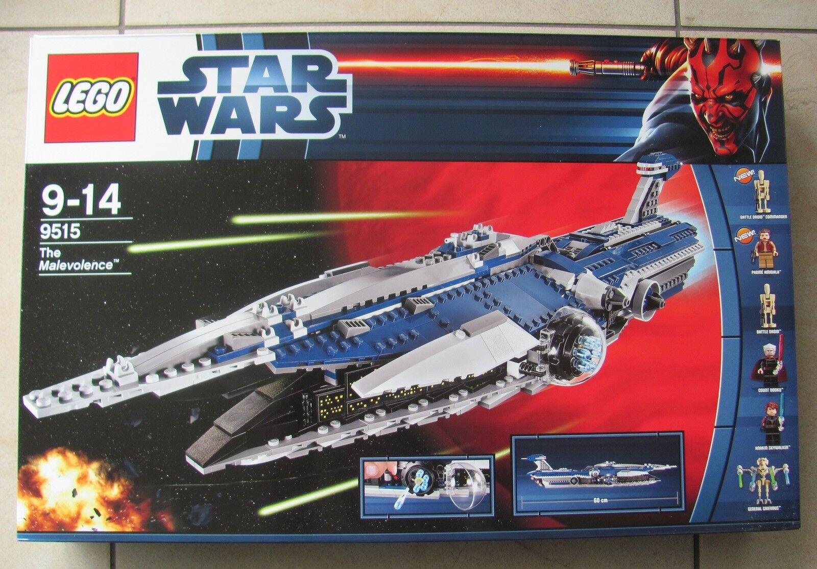 Lego Star Wars 9515 Malevolence 2012 nuevo & OVP rareza