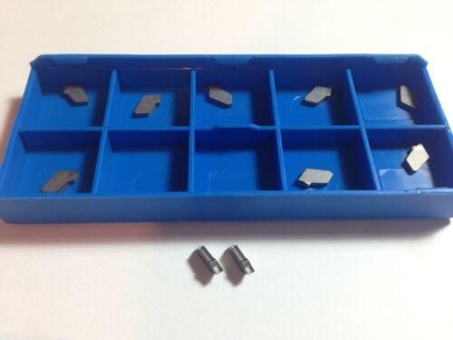 10 x ISCAR GSFN 1.6 IC20 Cut Off Slitting Carbide Inserts Cnc Lathe tools