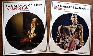 034-LA-NATIONAL-GALLERY-DE-WASHINGTON-LE-MUSEE-DE-BOSTON-034-Livres-d-039-Art