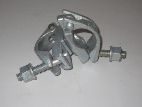 Neue Drehkupplung Kupplung Gerüstkupplung Gerüst Gerüstschelle 10 Stück