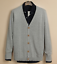 Mens-Cardigan-Cotton-Blend-Knitted-Sweater-Formal-Casual-V-Neck-Single-Breasted thumbnail 10