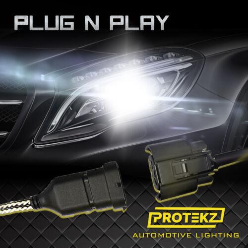 Protekz 9005 H10 9145 100W 6K White LED CREE Headlight Bulbs Kit Fog Light DRL