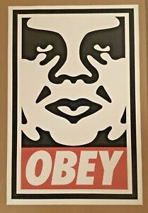 Shepard Fairey Andre ICON 2017 Offset Print 24 x 36 Obey Giant large 24x36