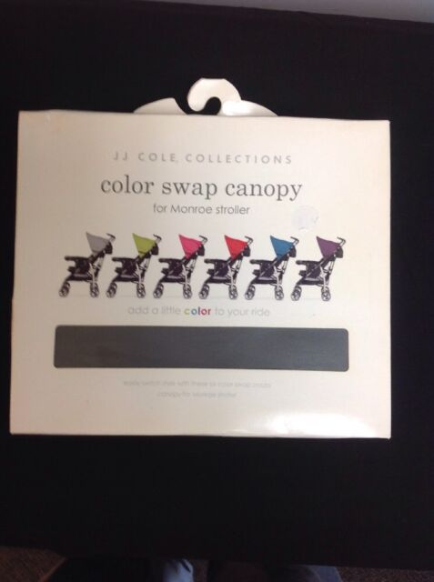 FREE SHIPPING!! JJ COLE COLOR SWAP CANOPY FOR MONROE STROLLER PRICE REDUCED!