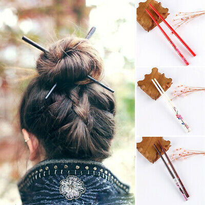 Handmade  Carved  Hair Accessories Styling Tools Chopstick Hair Stick Hairpin