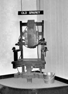 Antique-Alcatraz-Electric-Chair-Photo-380-Oddleys-Strange-amp-Bizarre