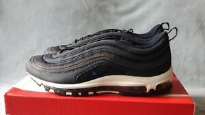 54fa3aa0ccff Mens Nike Air Max 97 Obsidian Navy 3M Reflective 921826-402 Size ...